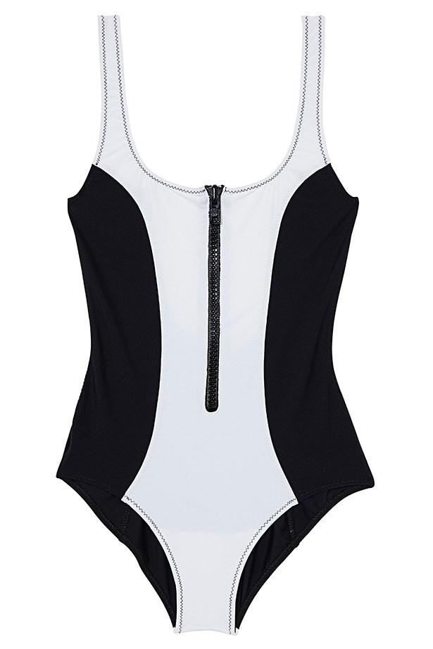 Swimsuit, $315, Lisa Marie Fernandez, (02) 9358 0600