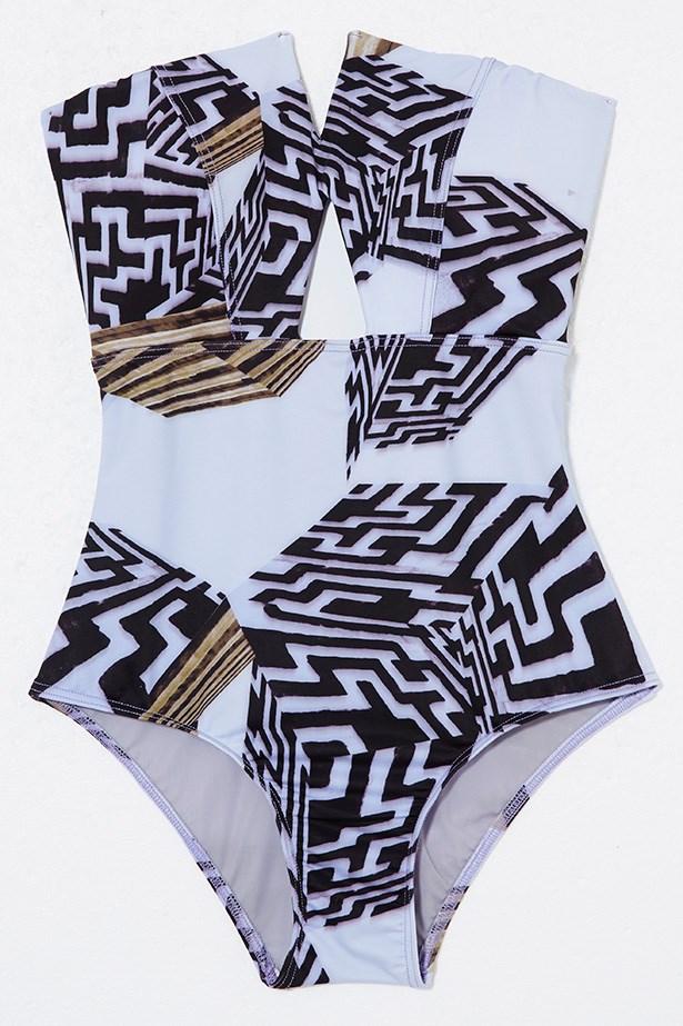 Swimsuit, $249, Manning Cartell, manningcartell.com.au