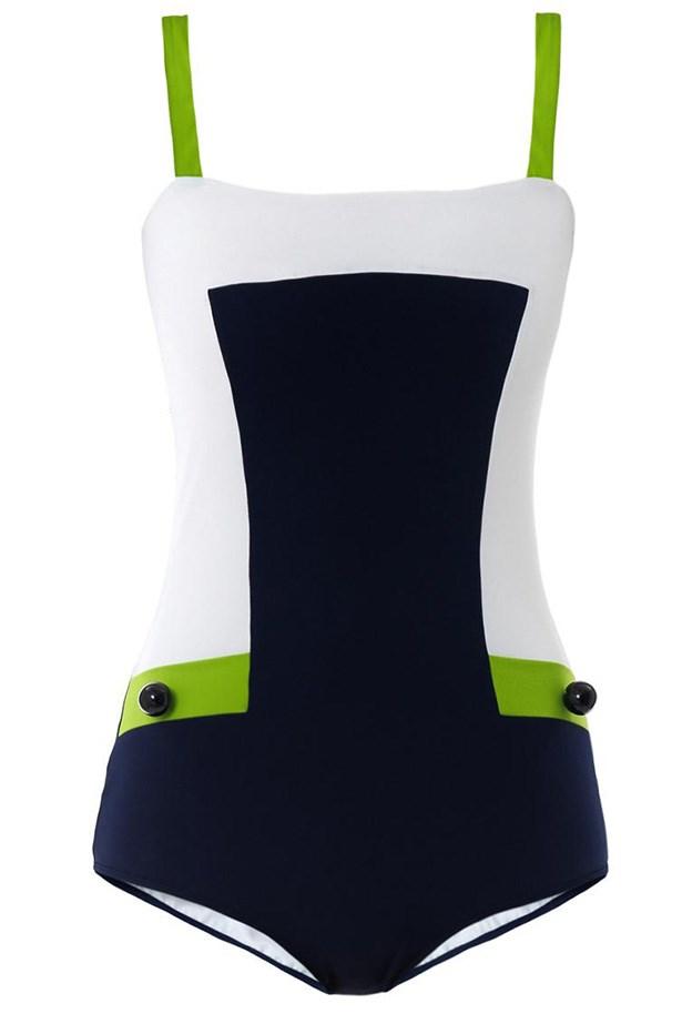 Swimsuit, approx. $460, Roksanda Ilincic, matchesfashion.com