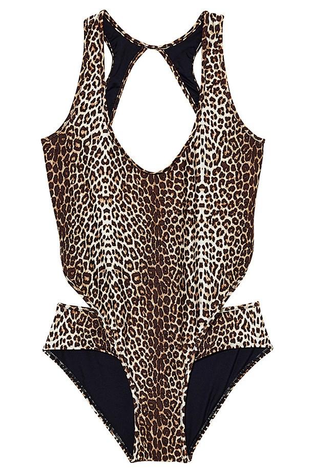 Swimsuit, $295, Zimmermann, zimmermannwear.com