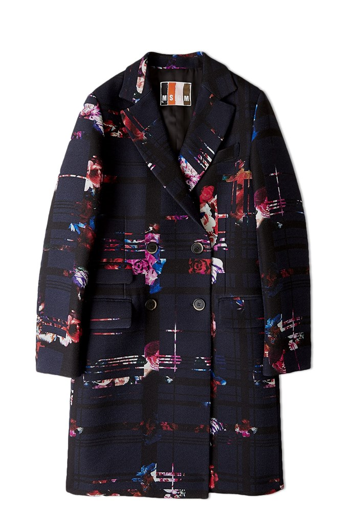 Coat, $1,106.67, MSGM, my-wardrobe.com