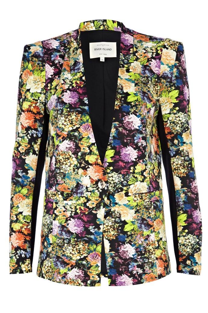 Jacket, $93.58, River Island, au.riverisland.com