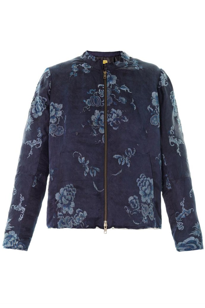 Jacket, $2,080, By Walid, matchesfashion.com