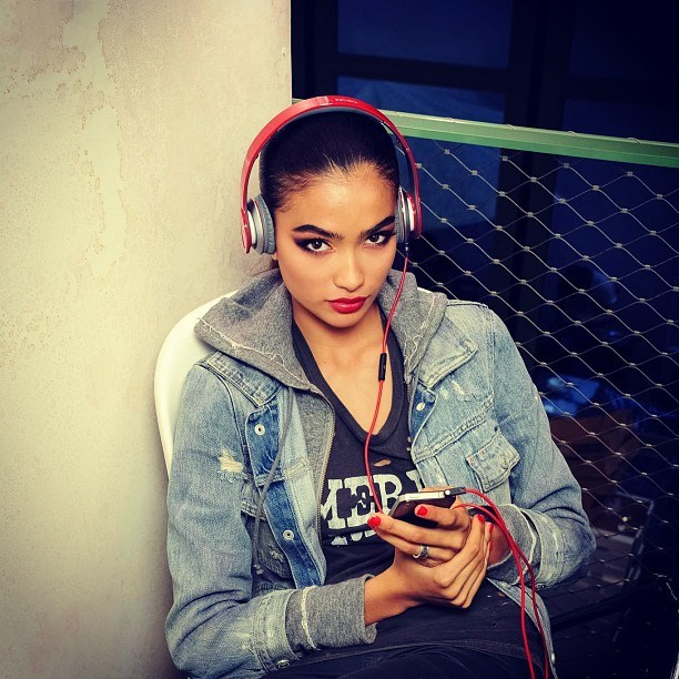 <p><strong>Name</strong>: Kelly Gale</p> <p><strong>Age</strong>: 18</p> <p>Hometown: Sweden</p> <p>Gale is half Australian, half Indian. She listens to Rihanna and Lil Wayne while travelling and watches <em>Friends</em> whenever she's feeling down. </p> <p>Follow @kellybellyboom (yes that's her handle) for smiley selfies and a glimpse of what VS really models eat.</p>