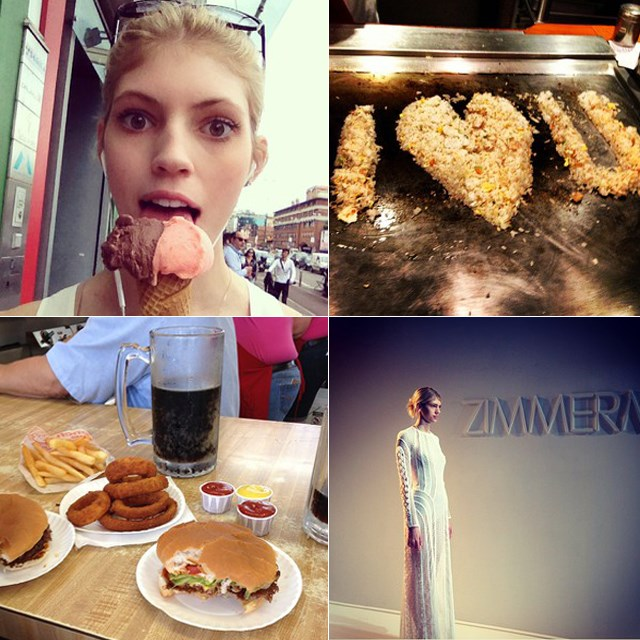<p><strong>Name</strong>: Devon Windsor</p> <p><strong>Age</strong>: 19</p> <p><strong>Hometown</strong>: St. Louis</p> <p>Windsor already has a Tumblr fan page, her first editorial was for<em> ELLE</em> Vietnam and she was discovered at a friend's bat mitzvah.</p> <p>Follow @devwindsor for the most down-to-earth Instagram account ever and rock solid proof that models eat carbs and chocolate and lollies. </p>