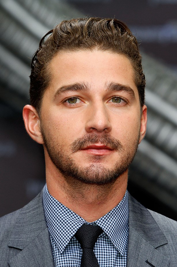 Shia LaBeouf shows off some facial hair at the 'Transformers 3' premiere in Berlin on June 25, 2011.