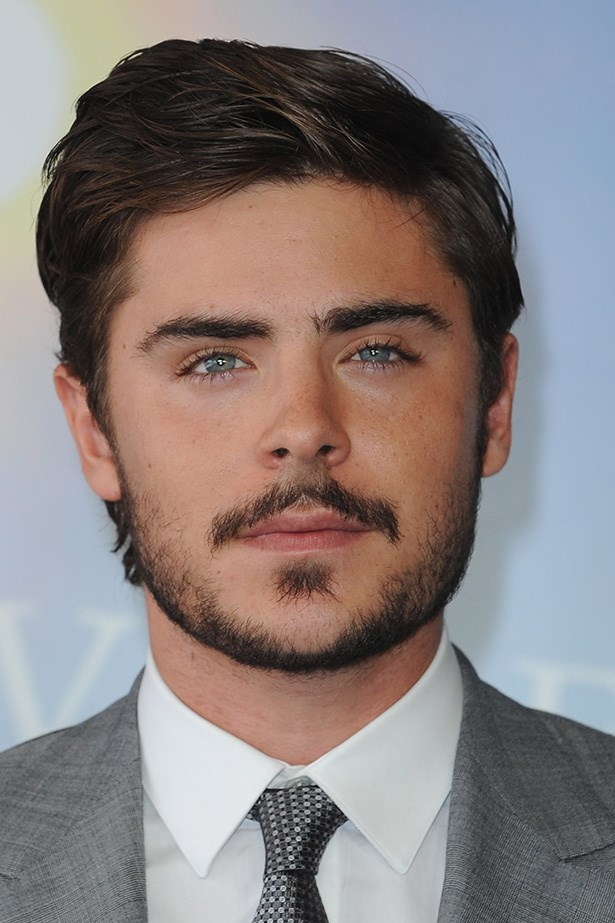 Zac Efron shows off some mature facial hair at the 36th Deauville American Film Festival in France on September 11, 2010.