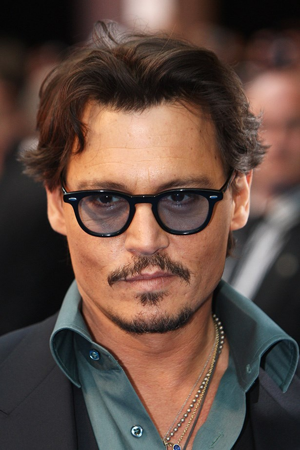Johnny Depp attends the UK premiere of 'Pirates of the Caribbean: On Stranger Tides' in London on May 12, 2011.