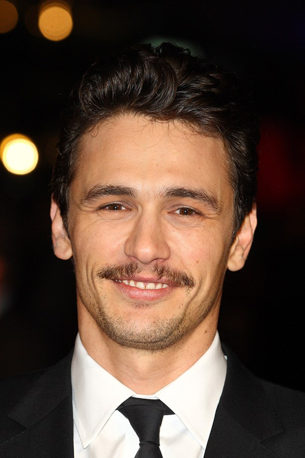 Man of the moment James Franco, sports his stubble at the European Premiere of '127 hours' in London on October 28, 2010.