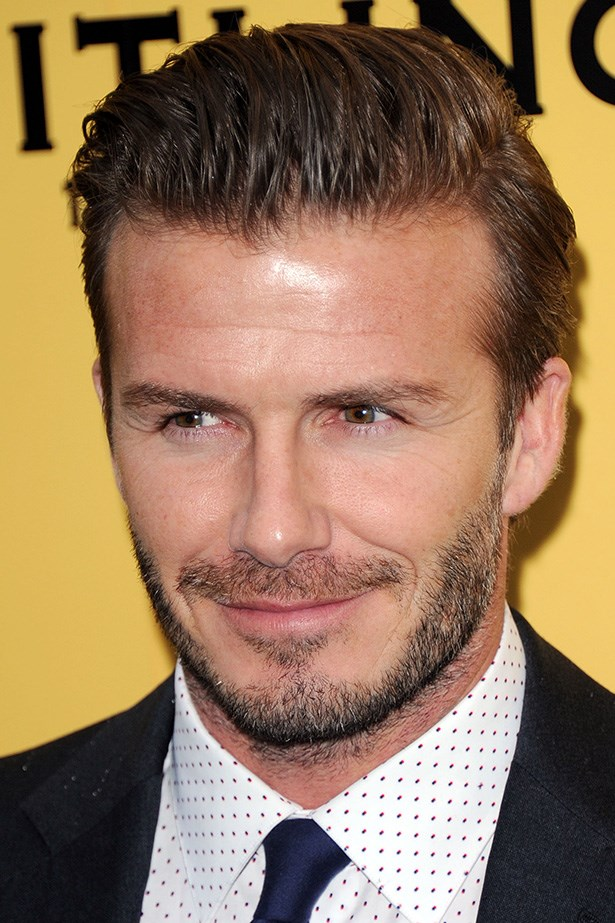 The soccer superstar that is David Beckham is set to receive knighthood for his contributions to football and services to charity. He attends the launch of the new Breitling Flagship Boutique in London this year with the perfect moustache-beard combo.