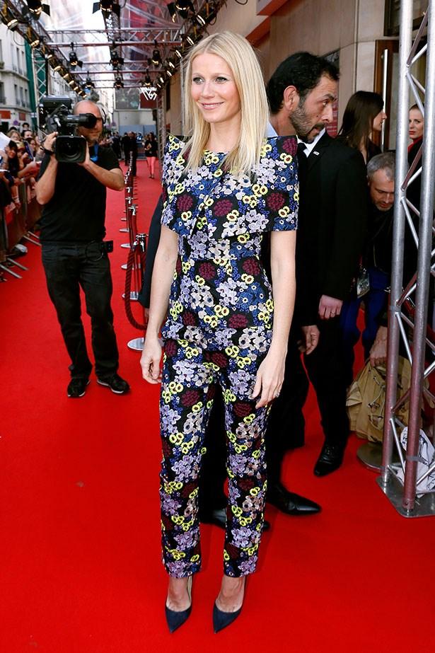 Wearing Erdem in Paris