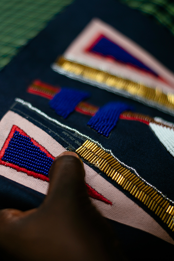 The bags being created by tribes in East Africa