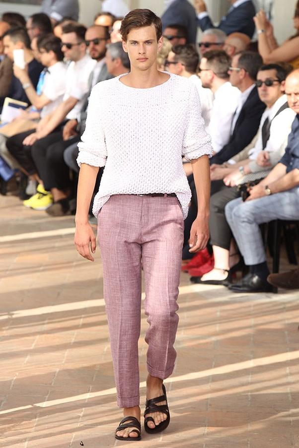 Model walks for Corneliani