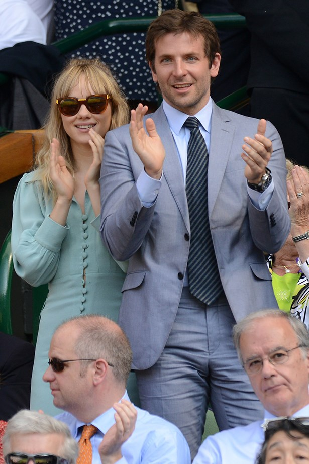 <p><strong>Bradley Cooper and Suki Waterhouse</strong></p> <p>Hollywood heart-throb Bradley Cooper has had his fair share of American beauties (Renée Zellweger, Zoe Saldana…) but it seems this time he's smitten by an English rose, model Suki Waterhouse. They first met at an <em>ELLE</em> awards night in February. </p>