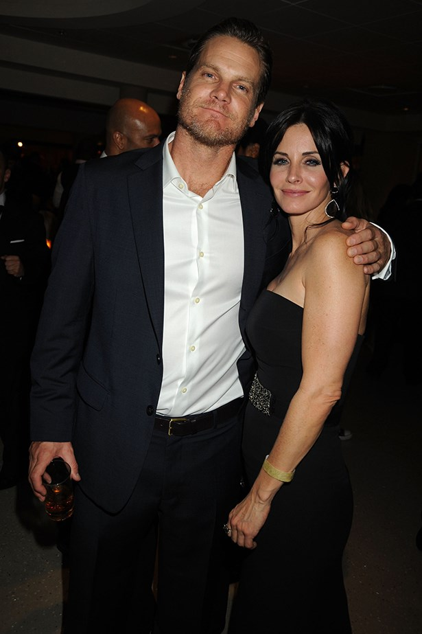 <p><strong>Courteney Cox and… mystery man</strong></p> <p>Courteney Cox has split with her boyfriend of a year, <em>Cougar Town </em>co-star Brian Van Holt. The news was broken thanks to her drunk-dialling ex hubby David Arquette, who called shock jock Howard Stern to reveal the former <em>Friends </em>star had a new beau and had split with Holt. </p>