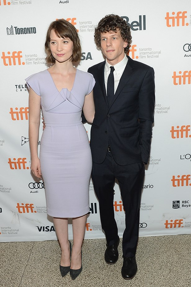 <p><strong>Jesse Eisenberg and Mia Wasikowska</strong></p> <p>Who'd have spotted this couple coming? Not us, but we think ethereal Wasikowska and<em> The Social Network</em> star Eisenberg look adorable together. </p>
