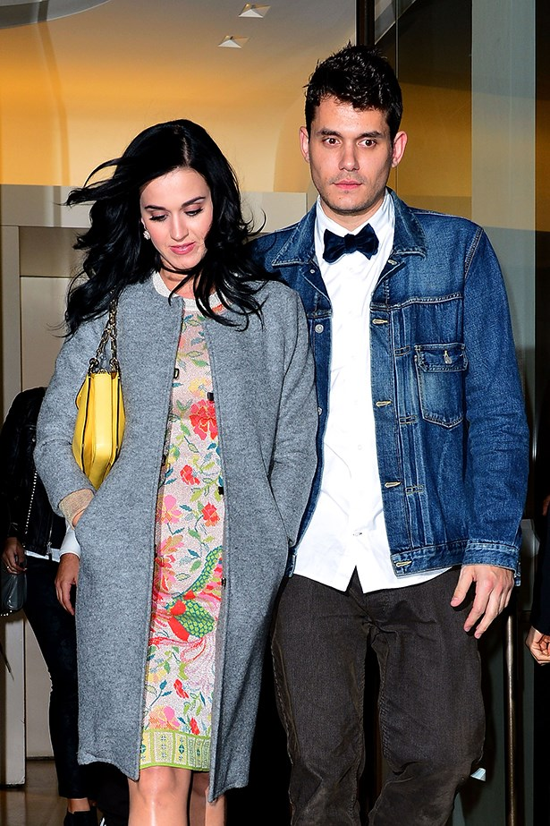<p><strong>John Mayer and Katy Perry</strong></p> <p>Baby, there's some fireworks! While there's been speculation this on-again-off-again pair have been back on since late last year, it's only recently the musical twosome have been owning up to the relationship and Perry was recently snapped with a sparkler on her engagement-ring finger.</p>