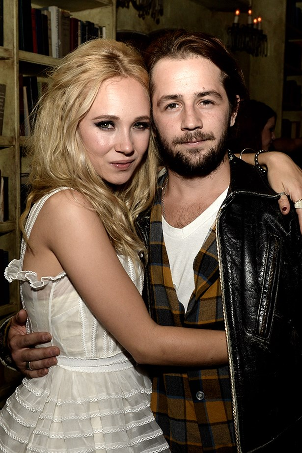 <p><strong>Juno Temple and Michael Angarano</strong></p> <p>It seems Kristen Stewart's ex has found love in the arms of a Brit. Actor Michael Angarano began dating English actress Juno Temple after meeting on the set of sci-fi flick, <em>The Brass Teapot</em>. </p>