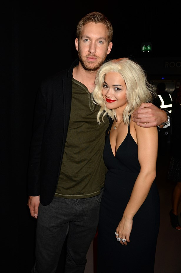 <p><strong>Rita Ora and Calvin Harris</strong></p> <p>Twitter-loving twosome Ora and Harris have been loved-up since meeting in May – we bet the musical pair have JayZ and Bey worried about their power-couple status. </p>
