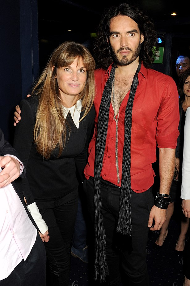 <p><strong>Russell Brand and Jemima Khan</strong></p> <p>What a Brit power couple this could be… Russell Brand and socialite Jemima Khan were first spotted hanging out in September and Jemima has Russ on a tight leash – the comedian is regularly seen walking her pup around London. </p>
