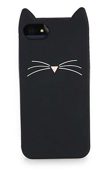 Kate Spade offers some feline iPhone protection with this whiskered case.