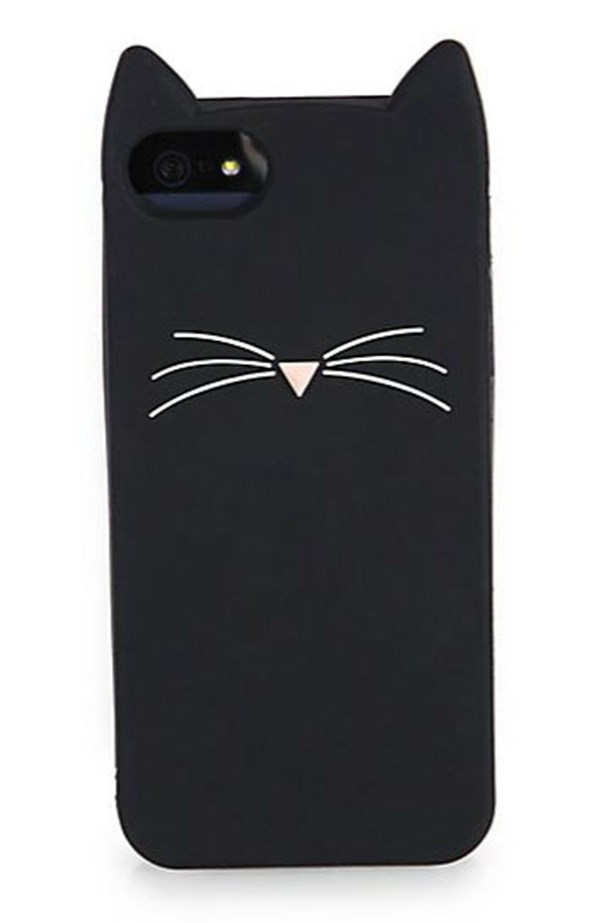 "<p>Kate Spade offers some feline iPhone protection with this whiskered case.</p> <p>Shop here: <a href=""http://www.saksfifthavenue.com/main/ProductDetail.jsp?FOLDER%3C%3Efolder_id=2534374306556424&PRODUCT%3C%3Eprd_id=845524446647280&site_refer=AFF001&mid=13816&siteID=4w9UJiJpWAc-vZfW9XEU8R9FHsmodXnSCA&LScreativeid=1&LSlinkid=15&LSoid=203720"">saksfifthavenue.com</a></p>"
