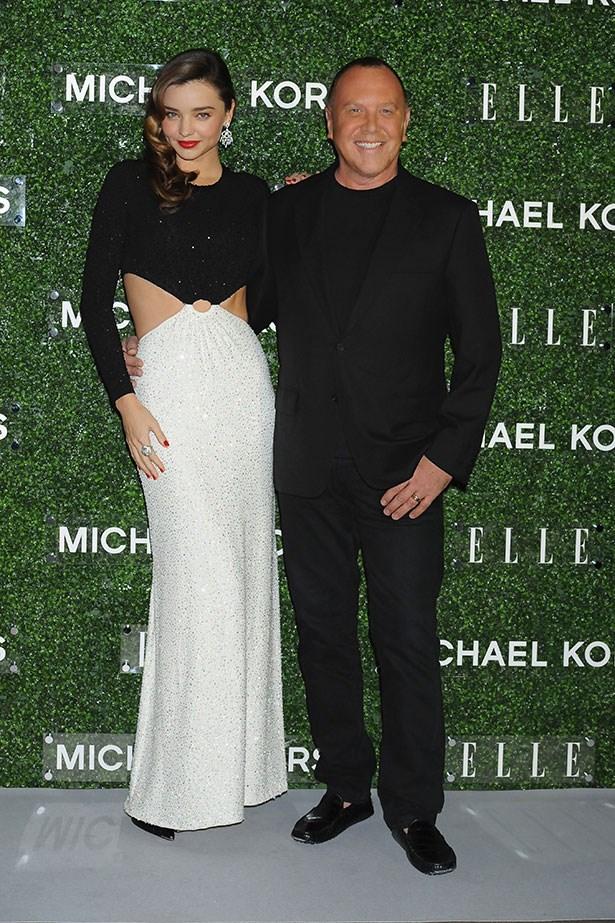 Miranda Kerr with Michael Kors