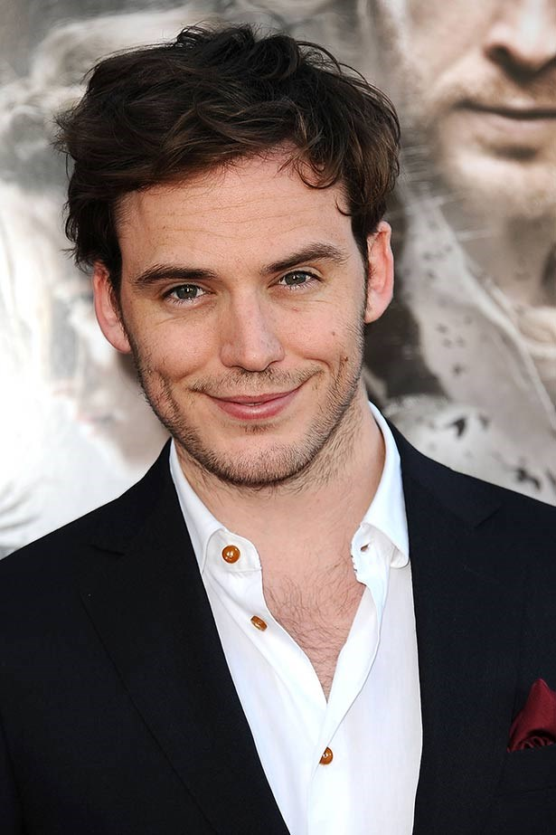 <strong>Sam Claflin</strong><br> In the book, <em>Catching Fire, </em> buff victor Finnick Odair is painted as every woman's dream man and the British actor and ELLE favourite certainly fits the brief. Is that cheeky smile not to die for?