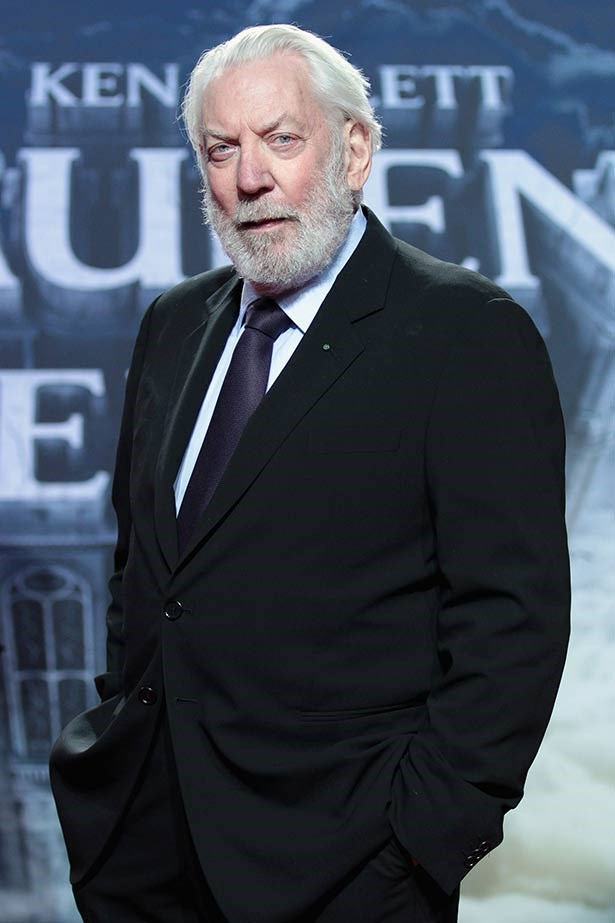 <strong>Donald Sutherland</strong><br> Thanks to the skill that comes from Sutherland's years in the acting biz, evil Capitol dictator President Snow has never been scarier than in this film... the white roses and breath that smells like blood? Shudder.
