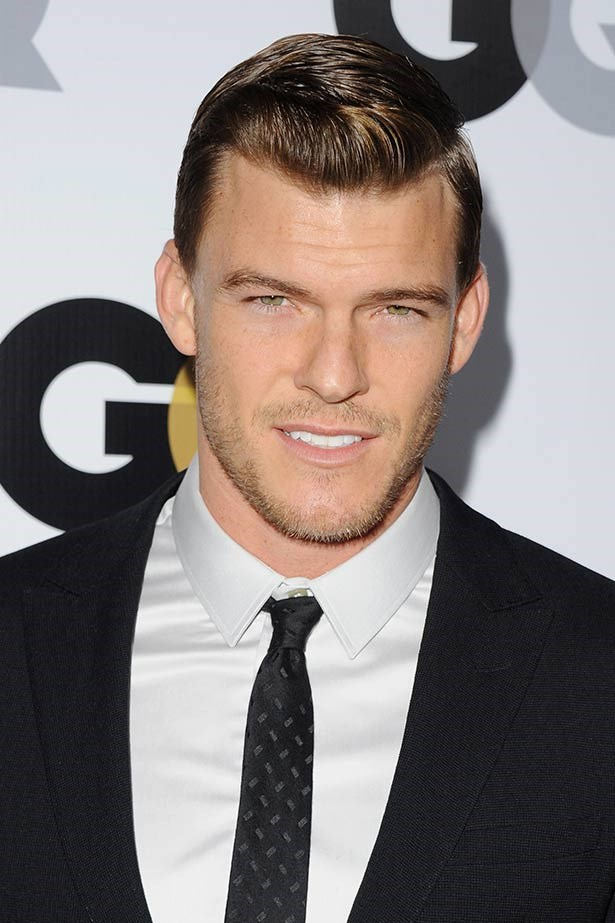<strong>Alan Ritchson</strong><br> The dreamy American actor steps into the shoes of District 1 victor Gloss, who makes for a deadly duo with sister and fellow tribute Cashmere. New crush alert.