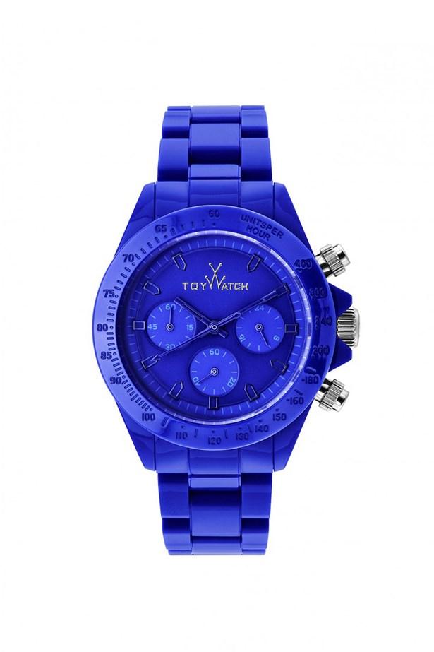"""Watch, $350, ToyWatch, <a href=""""www.toy-watch.com """">toy-watch.com </a>"""