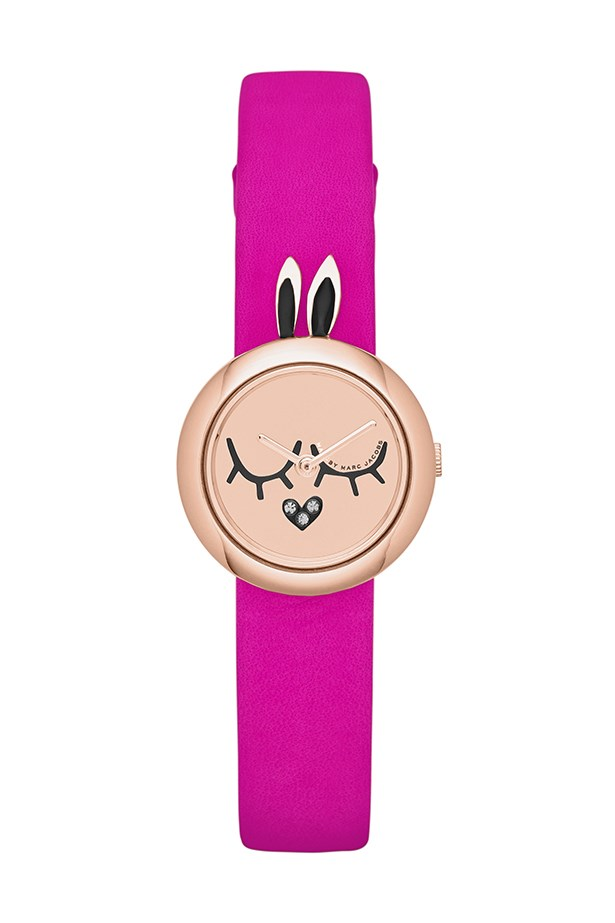 "Watch, $99, Marc By Marc Jacobs, <a href=""http://www.watchstation.com.au"">watchstation.com.au</a>"