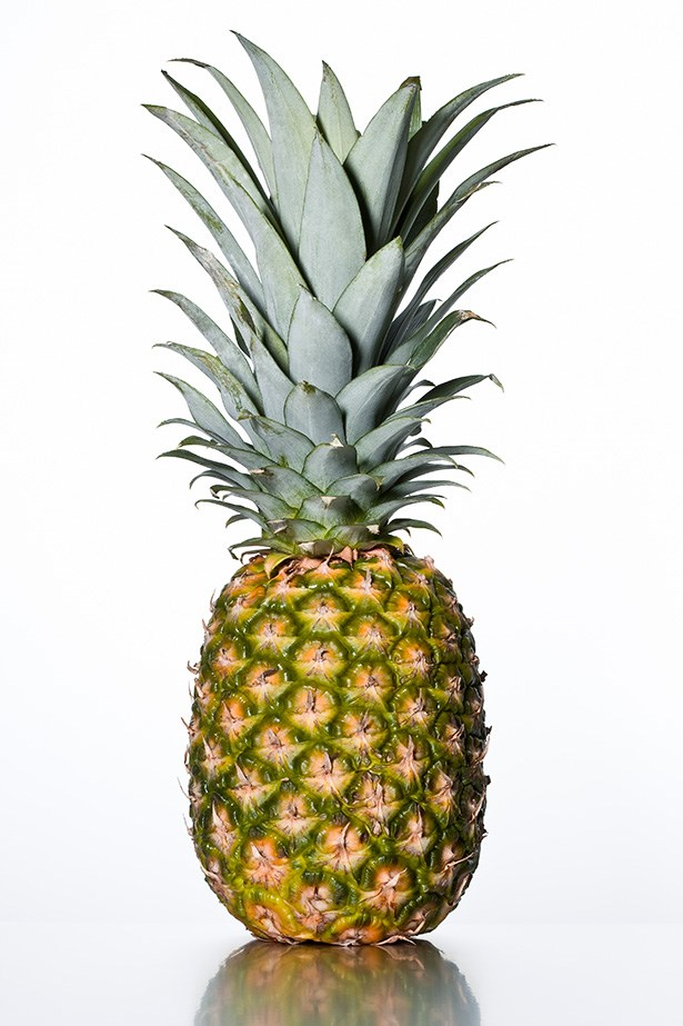 Pineapple - Tropical and sweet, fresh pineapple contains an enzyme called bromelain, which aids digestion by breaking down the proteins in meat.