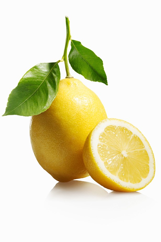 Lemon - As it's similar to the atomic structure of digestive juices found in the stomach, lemon juice promotes a healthy functioning gut and detoxes the bowel.