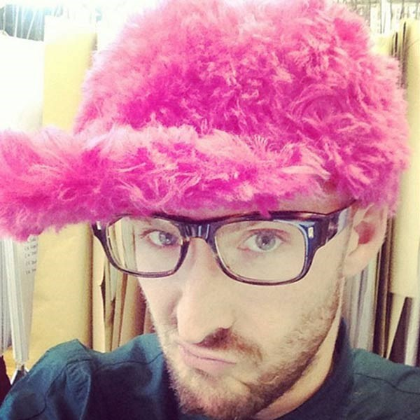 """<strong>Henry Holland</strong><br> """"What's not to like?"""" the British designer captioned this Instagram selfie, showing off a questionable pink furry cap. We have to agree."""