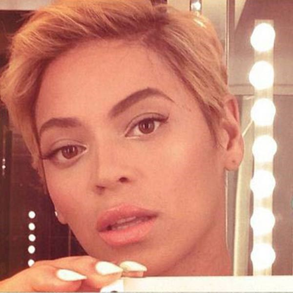 <strong>Beyonce</strong><br> The superstar's snap of her new pixie crop sparked a media frenzy when she posted it back in August, proving she can rock any 'do and still look fierce.