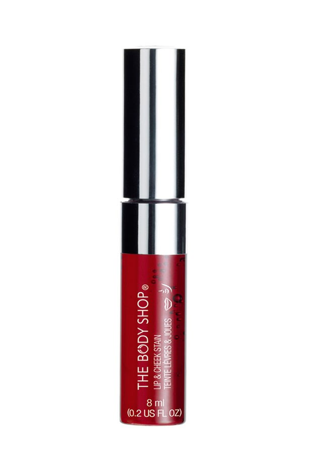 """Lip & Cheek Stain, $28.95, The Body Shop, <a href=""""http://thebodyshop.com.au"""">thebodyshop.com.au</a> A multi-tasking stain for lips and cheeks, a little goes a long way so it's perfect for ladies on a budget."""