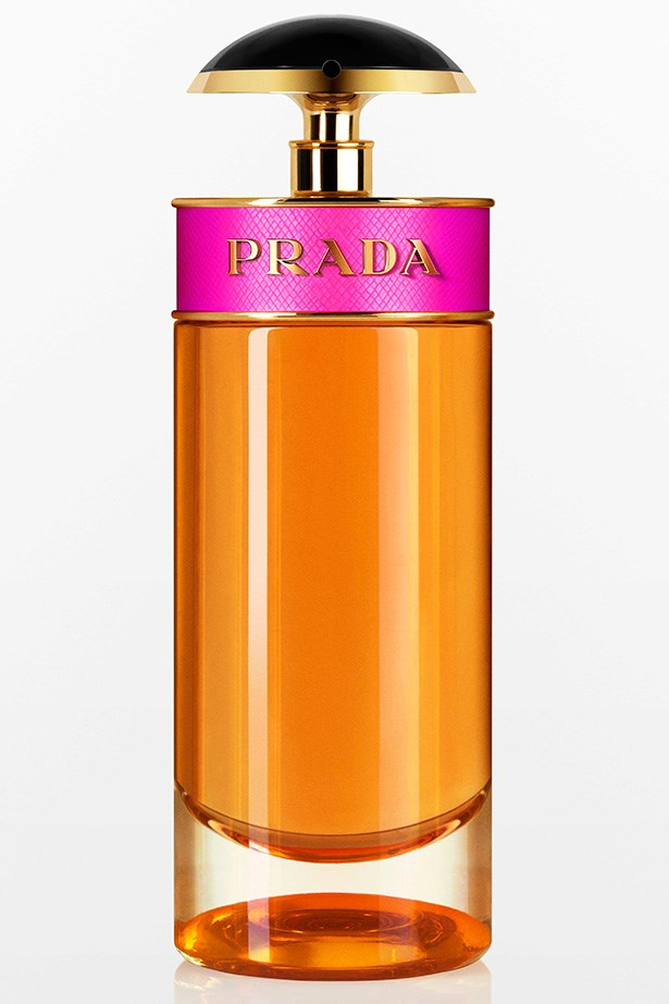 Candy EDP, $129 for 50ml, Prada, 02 9663 4277. With a mix of musk and vanilla, this playful perfume is perfect for those sensual summer nights.