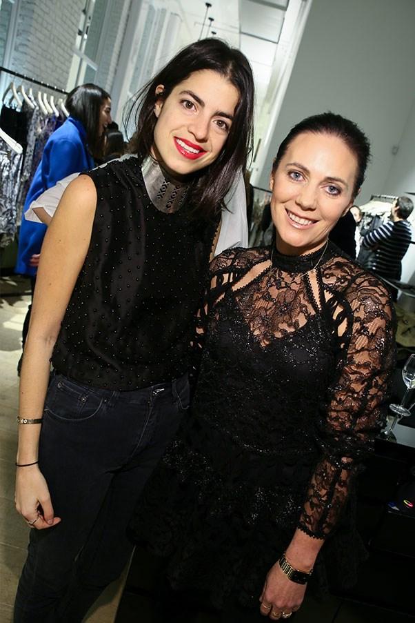 Leandra Medine and Nicky Zimmermann