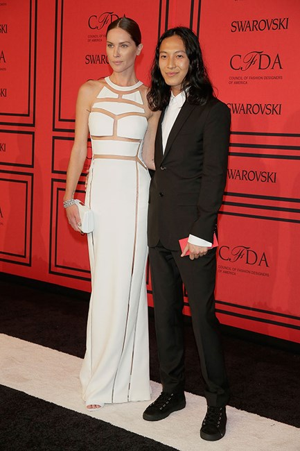 Erin Wasson and Alexander Wang
