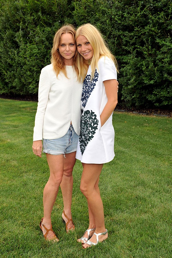 <p>Stella McCartney and Gwyneth Paltrow</p> <p>McCartney and Paltrow each have impressive social circles, but most of all, they have each other. These two clean-living babes look like they'd co-host the greatest (organic) garden party of all time. </p>