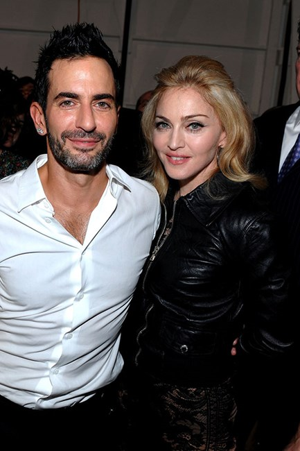 Marc Jacobs and Madonna