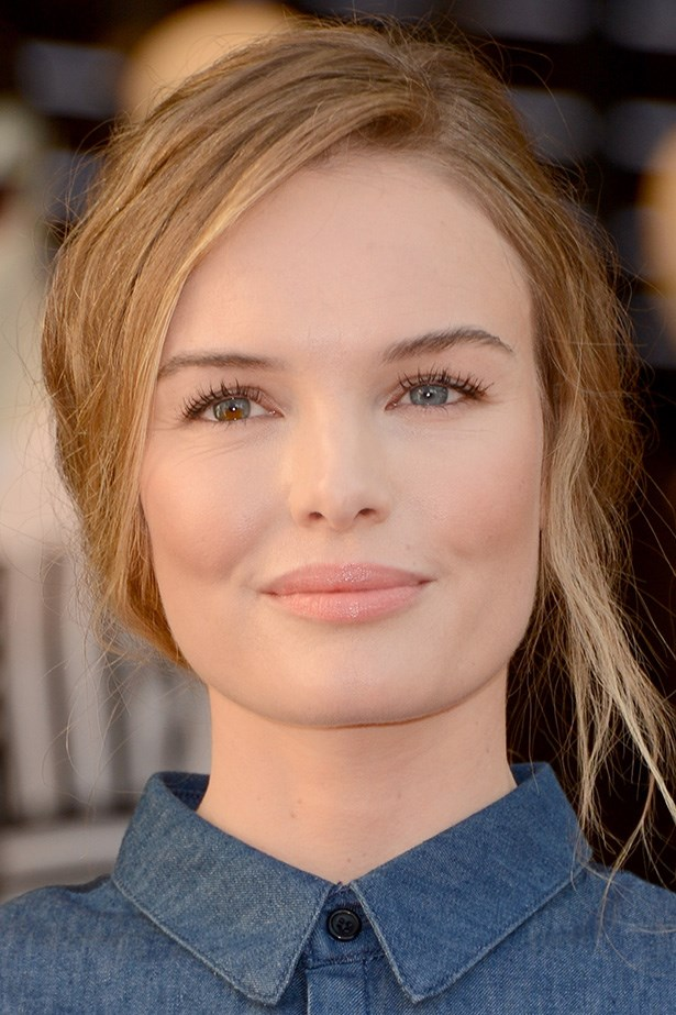 Kate Bosworth shows us that sometimes a dash of gloss is all you need.