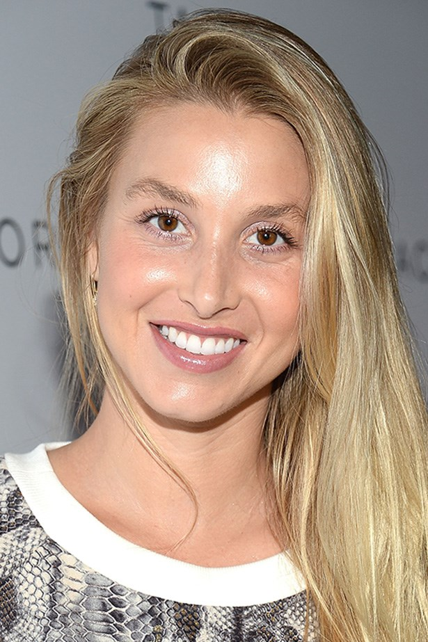 Au naturale brows frame the flawless face of Whitney Port.