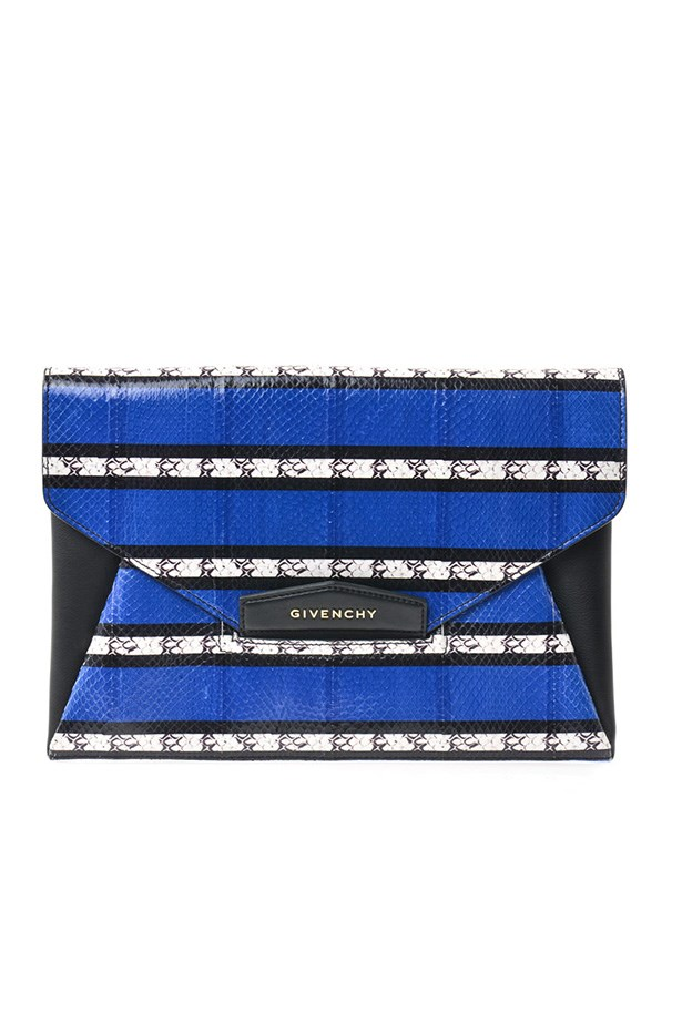 "Clutch, approx $2204, Givenchy, <a href=""http://www.matchesfashion.com"">matchesfashion.com</a>"