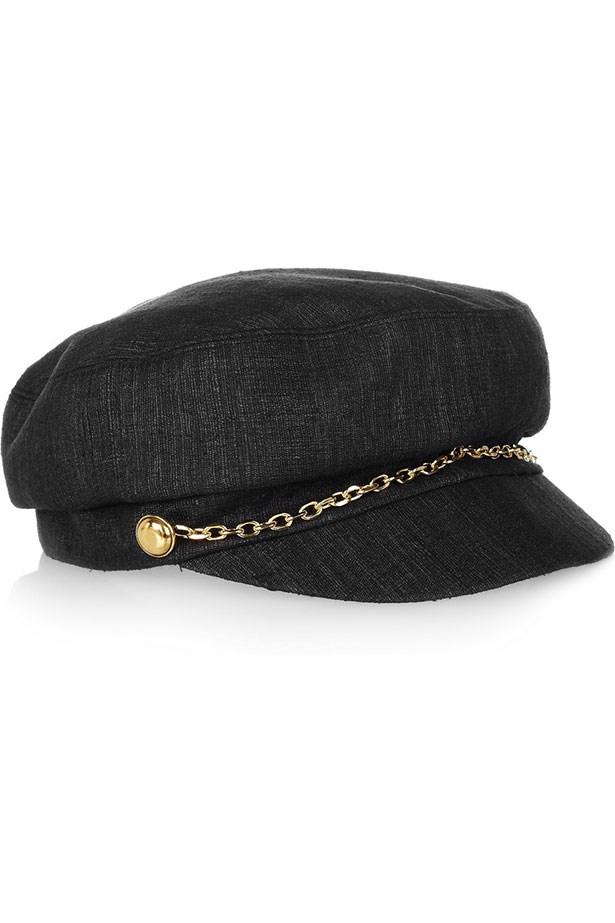 """Elyse woven hat, $256, Eugenia Kim, <a href=""""http://www.net-a-porter.com/product/332908"""">net-a-porter.com</a>"""