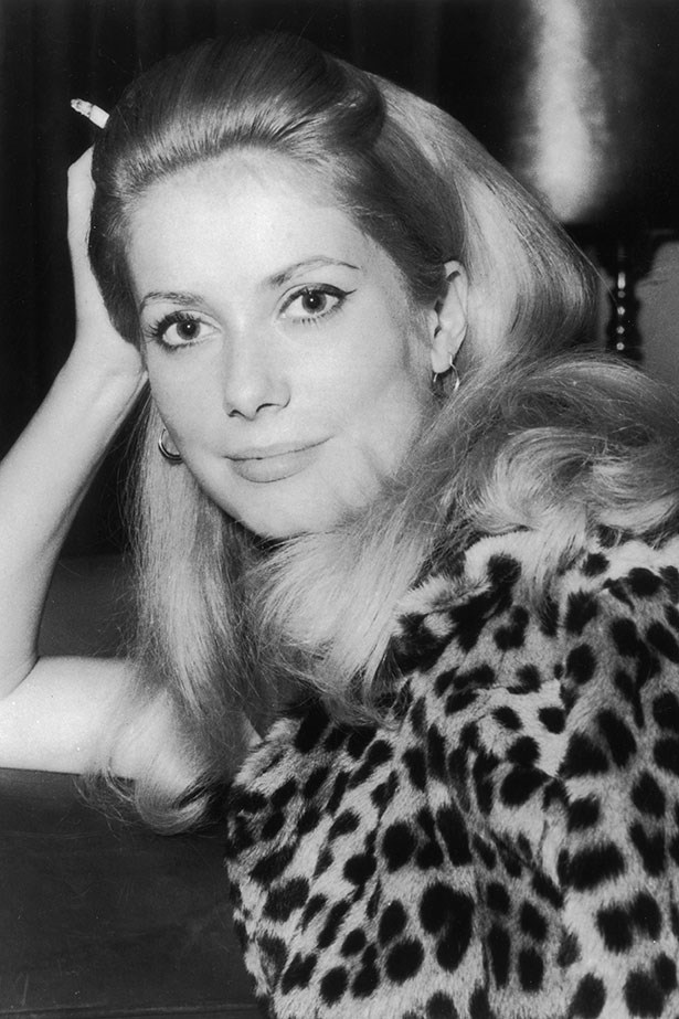 French actress Catherine Deneuve was a Chanel muse