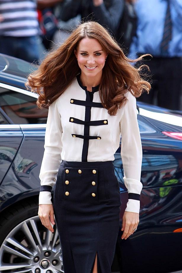 We love Kate Middleton's preppy style