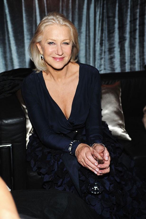 Actress Helen Mirren is constantly dressed in head-to-toe luxury designers