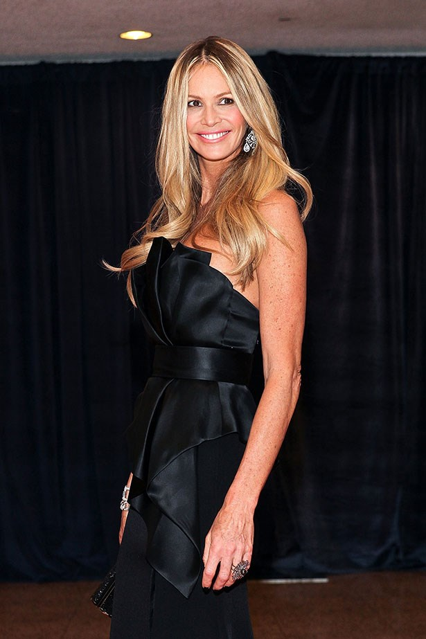 Australian supermodel Elle Macpherson always looks impeccable